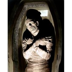 The Mummy, Boris Karloff, 1932 Movies Photo - 30 x 41 cm Retro Horror, Horror Icons, Sci Fi Horror, Arte Horror, Vintage Horror, Horror Films, Horror Art, Classic Monster Movies, Classic Horror Movies