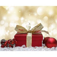 Christmas background ❤ liked on Polyvore featuring backgrounds and christmas