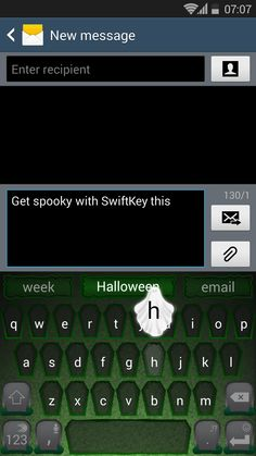 Make your keyboard spooky this Halloween with our new graveyard theme in the SwiftKey Store on Android.