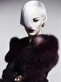 Hair: Akin Konizi @ HOB Salons  Photography: Jenny Hands   Makeup: Nicky Weir   Stylist: Damien Fox