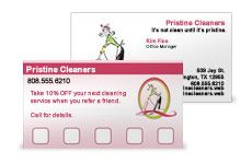 Use Customer Loyalty Cards For Home Party Business - now this is a creative marketing idea!