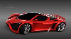 Future Car, Render: Pagani Thawra by Thebian Concepts