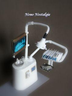 Dental cabinet pour Nicolas.  L'élément avec les fraises