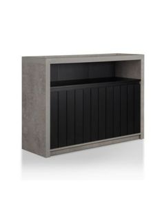 Derrick Industrial Buffet - Gray Space Furniture, Outdoor Furniture, Open Shelving, Shelves, Concrete Coffee Table, Mattress Brands, Tv Cabinets, Storage Spaces, Buffet
