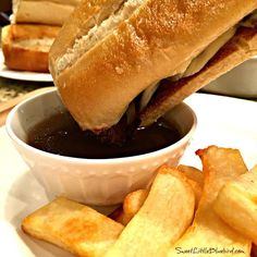 Fall is right around the corner and with the cool crisp weather headed our way, I am sharing a great slow cooker recipe – Easy Slow Cooker French Dip Sandwiches!   Chuck roast slow cooked in beefy broth until tender, served on a french roll with ooey gooey melted cheese with a fantastic side of au...Read More