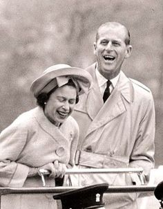 Queen Elizabeth II and Prince Philip have been married since we can imagine when. They've survived the toughest challenges, celebrated m. Hm The Queen, Royal Queen, Her Majesty The Queen, English Royal Family, British Royal Families, Elizabeth Queen, Queen Elizabeth Laughing, Elizabeth Philip, Prinz Phillip