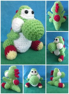 Just a little Yoshi from UnSheep. So tiny and cute >.< !!