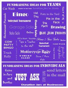 Fundraising ideas from Kick-off