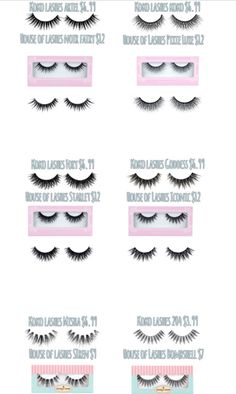 House of Lashes dupes by Koko lashes