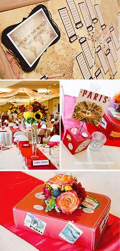 Jason Burns Photography, Orange County Wedding Photographer, Travel Themed Wedding