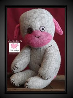 Benji The original 100% hand stitched handmade by ChikiMonkeys