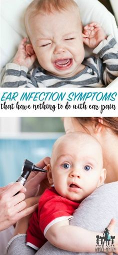 ear infection symptoms that have nothing to do with ear pain - how do you know when to go to the dr. and if your child has an ear infection, this is a great resource.