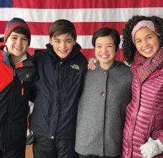 Joshua Rush, Asher Angel, Peyton Elizabeth Lee & Sofia Wylie
