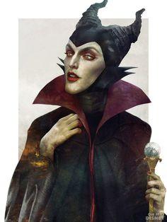 """Maleficent uit """"Doornroosje"""""""
