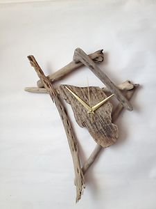 Beautiful driftwood clock