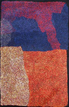Stanley Patju Presley - Markan - 15-44 http://www.aboriginalsignature.com/art-aborigene-spinifex-art-project/stanley-patju-presley-markan-15-44