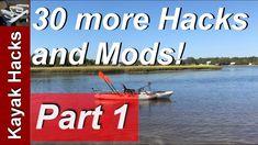 Fishing Kayak Setup Ideas - Part 30 more Kayak Modifications for Fishing Trout Fishing, Kayak Fishing, Bait Bucket, Kayak Seats, Fishing Books, Kayak Accessories, Potomac River, Paddle, Kayaking