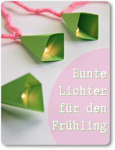 Bastel-Anleitung für Lichterkette