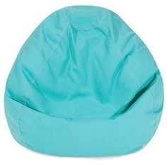 Bean Bag Chair Color: Teal - http://delanico.com/bean-bag-chairs/bean-bag-chair-color-teal-547135768/