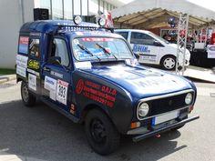 RENAULT 4 F4 fourgonnette - 4L Trophy 2014 Châtenois (1)