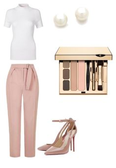"""""""☺️"""" by demi-tessa on Polyvore featuring mode, Topshop en Kenneth Jay Lane"""