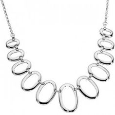 Silver Diamond Necklace - Diamond Necklaces - Necklaces - Jewelry