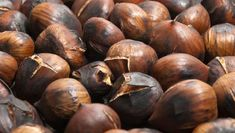 Chestnuts are a holiday favorite. Learn to roast them on your grill where the high, intense heat cooks the chestnuts until they literally pop open. Holiday Desserts, Holiday Recipes, Great Recipes, Cooking Tips, Cooking Recipes, Roasted Chestnuts, Sweet Butter, Wild Edibles, Good Housekeeping