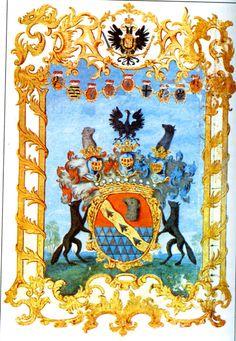 Герб баронов Строгановых