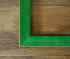 Green Color Pop Retro Custom Wood Art & Picture by TheFrameFarm