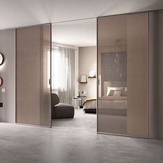 Scenario is a system of sliding glass and glass / aluminum doors.A real piece of furniture, Scenario is a modular collection that can adapt to any architectural context, it is a tool for designing flexible and functional: it divides and creates...