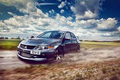 Mitsubishi Evo IX #cars http://www.turrifftyres.co.uk