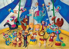 Circus by Monika Suska