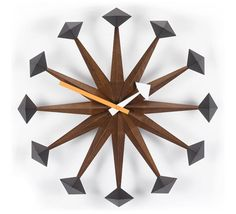 POLYGON CLOCK  $590 @ puremodern.com by George Nelson