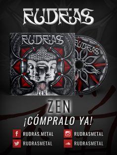 """Rudras lanza al mercado en físico su primer disco """"Zen"""" http://crestametalica.com/rudras-lanza-al-mercado-en-fisico-su-primer-disco-zen/ vía @crestametalica"""