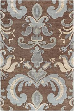 Rugs Direct Surya Studio Sr 142 Brown Blue Area