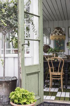 Vintage House: ÅRETS UPPLAGA AV GLASVERANDAN