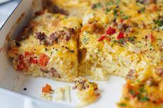Recipe: Cheesy Hashbrown Breakfast Casserole   Kitchn