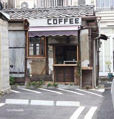 28 ideas exterior cafe design bakeries for 2019 Coffee Store, Coffee Cafe, Cafe Restaurant, Restaurant Design, Café Bistro, Cafe Concept, Shop Facade, Coffee Stands, Cocinas Kitchen