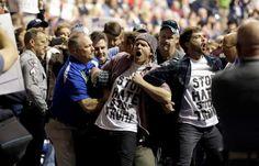 'Get him out!' Racial tensions explode at Donald Trump's rallies. #Politics #iNewsPhoto