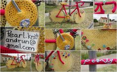 Make Me a Picture of the Wind: Yarn Bombing