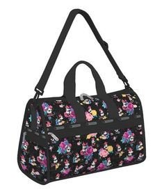 Minnie Mouse Floral LeSportsac #Minniestyle
