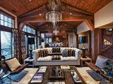 The Belles on Empire Pass In Park City, Uath - traditional - living room - salt lake city - by Alder and Tweed