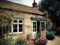 Tea Room - Explored by Hauke Sandhaus, via Flickr (this tea room is in Lacock, England - I've taken the same picture!)