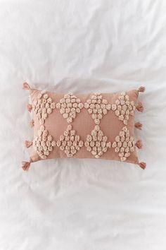 Pink Pillows, Boho Pillows, Accent Pillows, Fantasy Bedroom, Bolster Pillow, Chair Pillow, Knit Pillow, Pillow Cases, Teen Girl Bedrooms