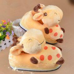 Leecos Winter Cute Giraffe Plush Cartoon Slippers Yellow Free Size Leecos,http://www.amazon.com/dp/B00GTCLZIO/ref=cm_sw_r_pi_dp_ldeSsb1QA531SYAD