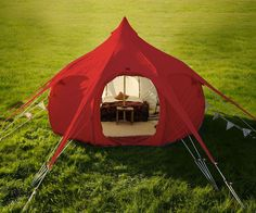 Lotus Belle Luxury Canvas Tents | DudeIWantThat.com