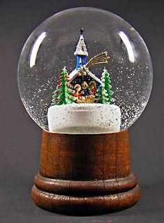 Into the wintry world of the snow globe   Los Angeles Times