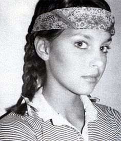 Ashley Judd as a teenager.
