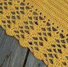 Crochet Afghan For Boys 57 Best Ideas Crochet Afghans, Baby Blanket Crochet, Crochet Lace, Crochet Stitches, Crochet Hooks, Free Crochet, Crochet Edges For Blankets, Crochet Edgings, Crochet Border Patterns