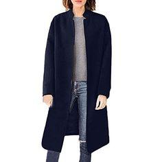 BESSKY Mens Warm Plus Thickening Long Coat Jacket Faux Fur Parka Outwear Cardigan